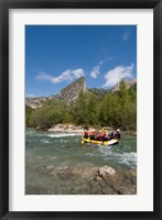 Rafting on Verdon River,  Provence, France Fine Art Print
