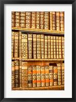 Austria, Melk Abbey library Fine Art Print