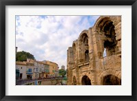Roman Amphitheatre and Shops, Provence, France Fine Art Print