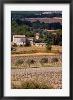 Provencal Village, Chateau Vannieres Fine Art Print