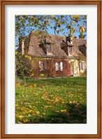 Main Farmhouse in Traditional Dordogne Style Fine Art Print