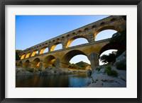Sunrise Scenic of a Provence Region Town, France Fine Art Print