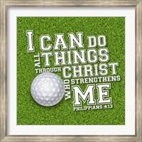 I Can Do All Sports - Golf Fine Art Print
