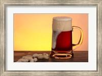 Beer Foam Running And Peanuts Fine Art Print