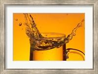 Glass Mug On Bar Splashing I Fine Art Print