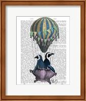 Flying Penguins Fine Art Print