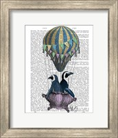 Flying Penguins Fine Art Print