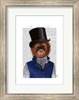 Orangutan in Top Hat Fine Art Print