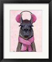 Chilly Llama Pink Fine Art Print