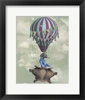 Flying Zebra Fine Art Print