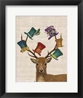 Hat Collector Deer Fine Art Print