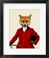 Fox Hunter 2 Portrait Fine Art Print