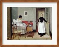 The Sick Patient (Helene Chatenay), 1892 Fine Art Print