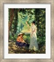 Two Women in a Landscape Fine Art Print
