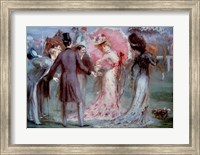 Weighing of the Horses Fine Art Print