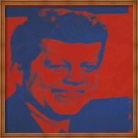 Flash-November 22, 1963, 1968 (red & blue) Fine Art Print