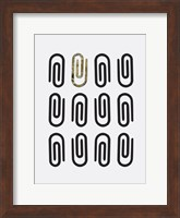 Office Glam Icon Gold Pop 2 Fine Art Print