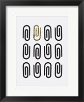 Office Glam Icon Gold Pop 2 Fine Art Print
