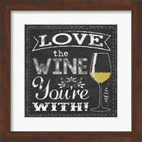 Chalk Wine 1 Fine Art Print