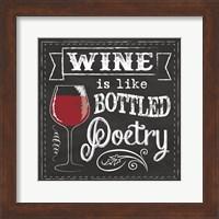 Chalk Wine 2 Fine Art Print