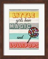 Little Girls Have Magic Fine Art Print