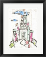 Sketch Castle I Fine Art Print