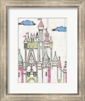 Sketch Castle II Fine Art Print