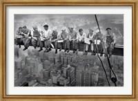 New York Lunch Atop A Sky Fine Art Print