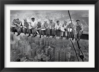 New York Lunch Atop A Sky Fine Art Print