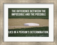 The Impossible and the Possible Fine Art Print