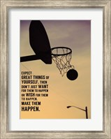 Expect Great Things Fine Art Print
