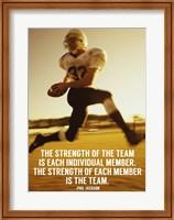Strength of the Team Fine Art Print