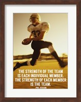 Strength of the Team Fine Art Print