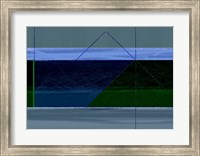 Blue And Green Fine Art Print