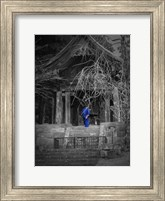 Monk And Bell Fine Art Print