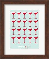 Martini Lover Red Fine Art Print