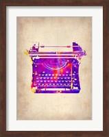 Vintage Typewriter 1 Fine Art Print
