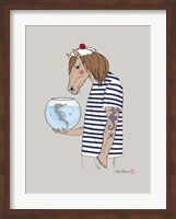 Horse Sailor Fine Art Print
