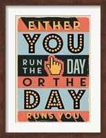 Run The Day Fine Art Print