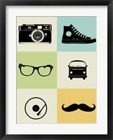 Hipster Mix Fine Art Print