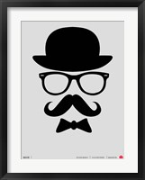 Hats Glasses and Mustache 1 Fine Art Print