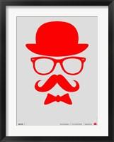 Hats Glasses and Mustache 2 Fine Art Print