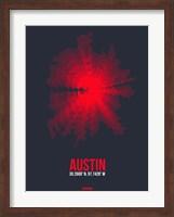 Austin Radiant Map 2 Fine Art Print