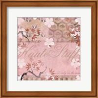 Haute in Pink III Fine Art Print