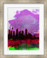 Sydney Watercolor Skyline 2 Fine Art Print