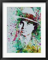 Al Capone Watercolor Fine Art Print
