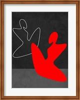 Red Girl 1 Fine Art Print