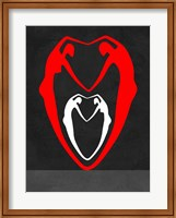 Red and White Heart Fine Art Print