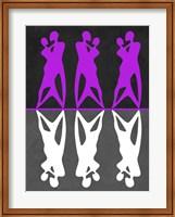 Purple and White Dance Fine Art Print