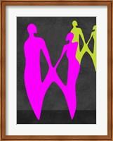 Purple Couple Fine Art Print
